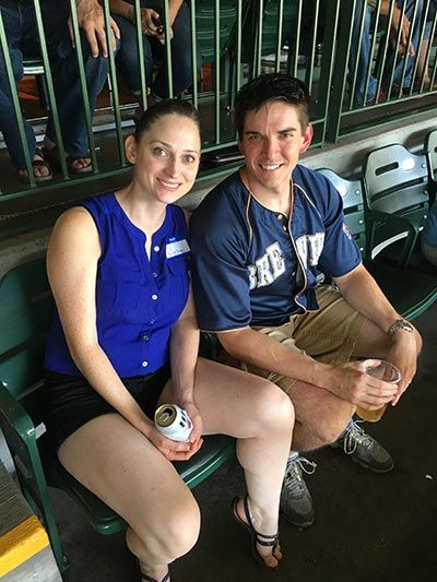 Dental Associates hosted military service members at a Brewers game