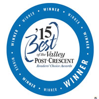 Dental Associates was voted best dentist in the Fox Valley by readers of the Post-Crescent