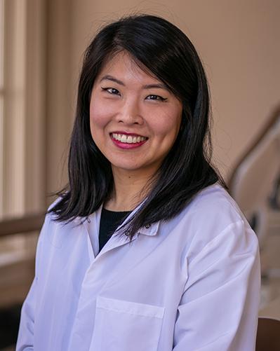 Dentist Wendy Zhu