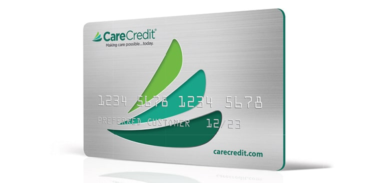 Dental financing with CareCredit