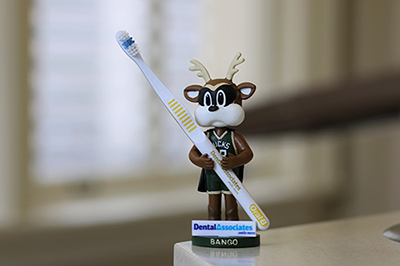Dental Associates will sponsor a Bango toothbrush holder giveaway on March 12, 2016